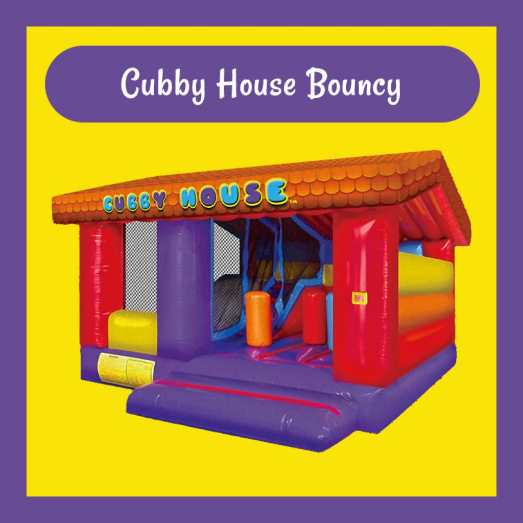 Cubby House Bouncy